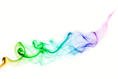 Colorful smoke for background Stock Images