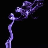 Colorful smoke on black background Royalty Free Stock Photo