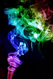 Colorful smoke Stock Image