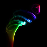 Colorful smoke cloud Stock Images