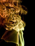 Colorful smoke detail Royalty Free Stock Image