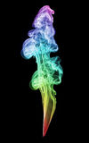 Colorful smoke formation Royalty Free Stock Photography