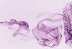 Colorful smoke isolated Royalty Free Stock Images