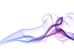 Colorful Smoke Isolated Stock Photos
