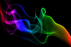 Colorful Smoke Stock Image