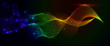 Colorful a smoke and lights. Colorful a abstract smoke and lights Royalty Free Stock Image