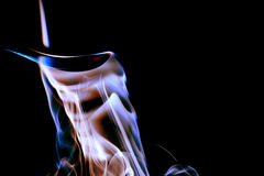 Colorful smoke Stock Photography