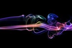 Colorful smoke Royalty Free Stock Image