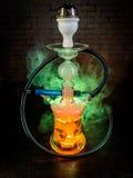 Colorful smoking hookah Stock Photo