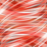 Colorful smooth light lines background red, white, brown colors. Royalty Free Stock Photography
