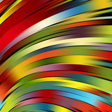 Colorful smooth light lines background Royalty Free Stock Photography