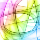 Colorful smooth lines background Royalty Free Stock Image
