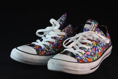 Colorful Sneaker Royalty Free Stock Photography