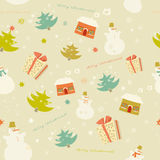 Colorful snow pattern backdrop Royalty Free Stock Photos