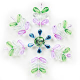 Colorful snowflake stock images