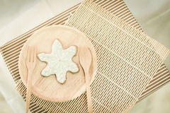 Colorful snowflake cookies Stock Photography