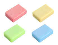 Colorful soap Stock Images