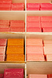 Colorful soap bars in the French Provence Royalty Free Stock Photo