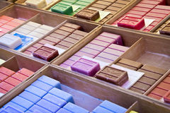 Colorful soap collection Stock Images