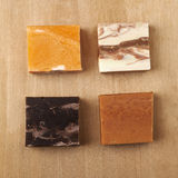 Colorful soaps Royalty Free Stock Image
