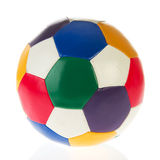 Colorful soccer ball Royalty Free Stock Photo