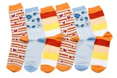 Colorful sock Royalty Free Stock Images
