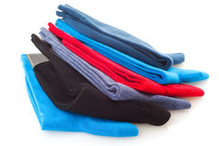 Colorful socks Stock Images