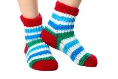 Colorful socks Stock Image