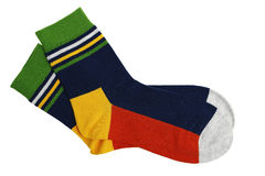 Colorful socks Stock Photo