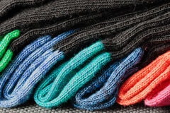 Colorful socks Royalty Free Stock Photos