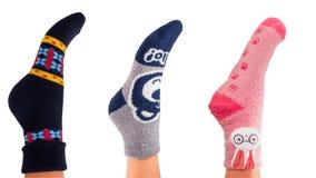 Colorful socks Stock Photography