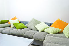 Colorful sofa Royalty Free Stock Image