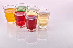 Colorful Soft Drinks Stock Photos