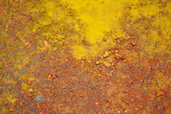 Colorful soil Stock Photo