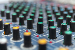 Colorful sound mixer. Texture design. Royalty Free Stock Image