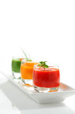 Colorful Soup Stock Photography