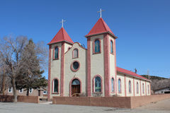 Colorful Southwest Church Royalty Free Stock Image
