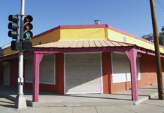 Colorful Southwestern Facade Stock Photos