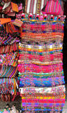 Colorful souvenir market in South America Stock Photography