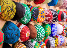 Colorful souvenirs of Morocco Royalty Free Stock Photo