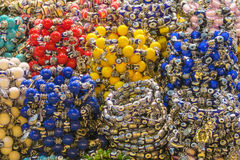 Colorful souvenirs from turkish market Stock Image