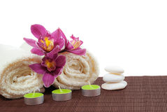 Colorful Spa Stock Photography