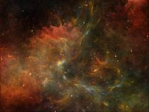 Colorful Space Stock Photography
