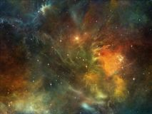 Colorful Space Stock Photo