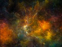 Colorful Space Stock Images