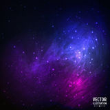 Colorful Space Galaxy Background with Light, Stock Images