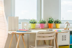 Colorful space for learning Stock Image