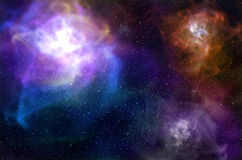 Colorful space nebula. Abstract astronomic astronomy background beautiful Stock Photo