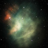 Colorful space nebula Stock Image