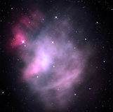 Colorful space nebula Stock Photos